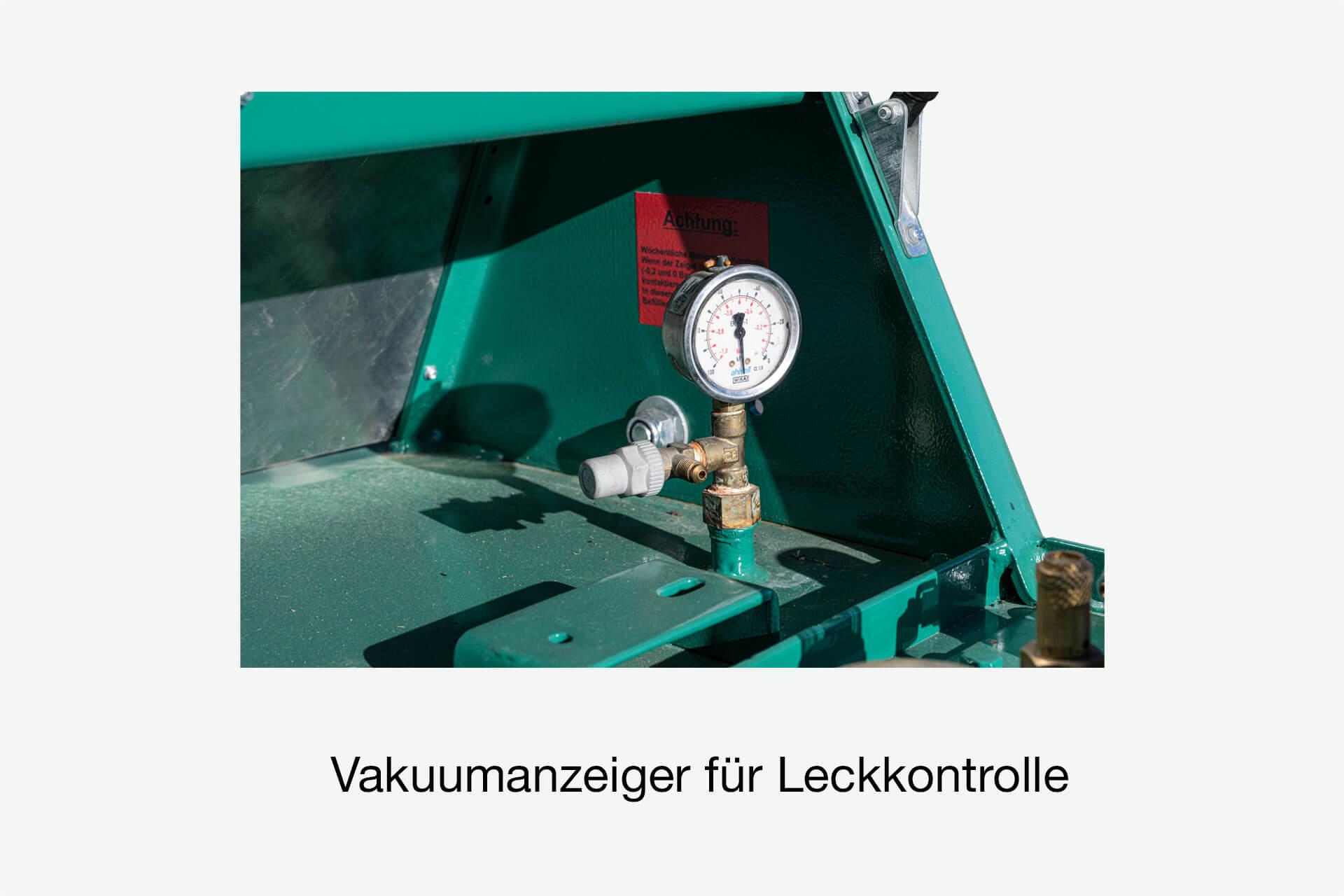 Vakuum-Anzeige