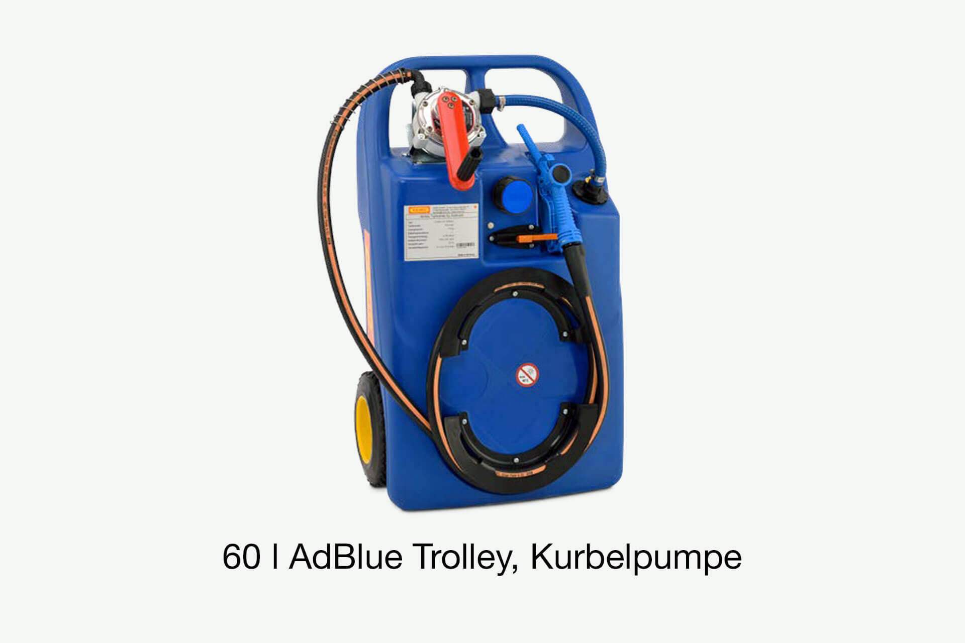 AdBlue Trolley, Transportbehälter
